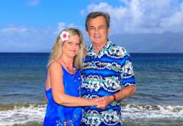 Sheryl and Rod at Maui