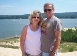 Sheryl and Rod at Silver Lake